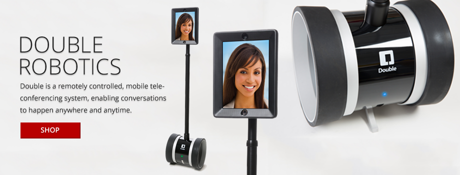 Double is a remotely controlled, mobile teleconferencing system, enabling conversations to happen anywhere and anytime.