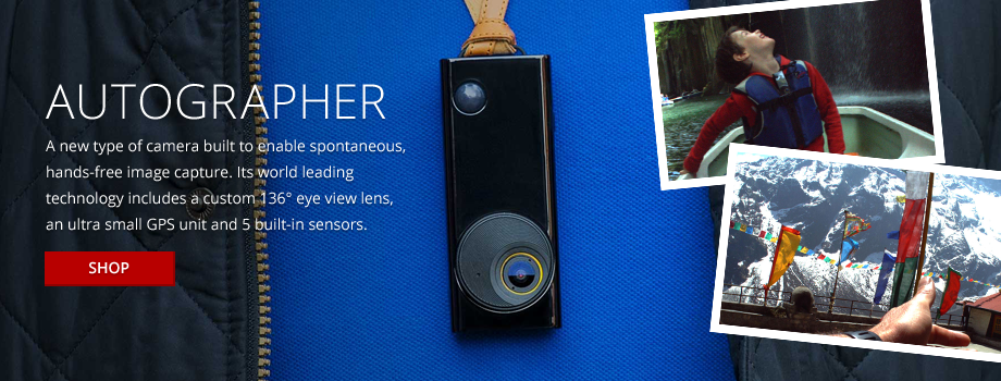 A new type of camera built to enable spontaneous, hands-free image capture.